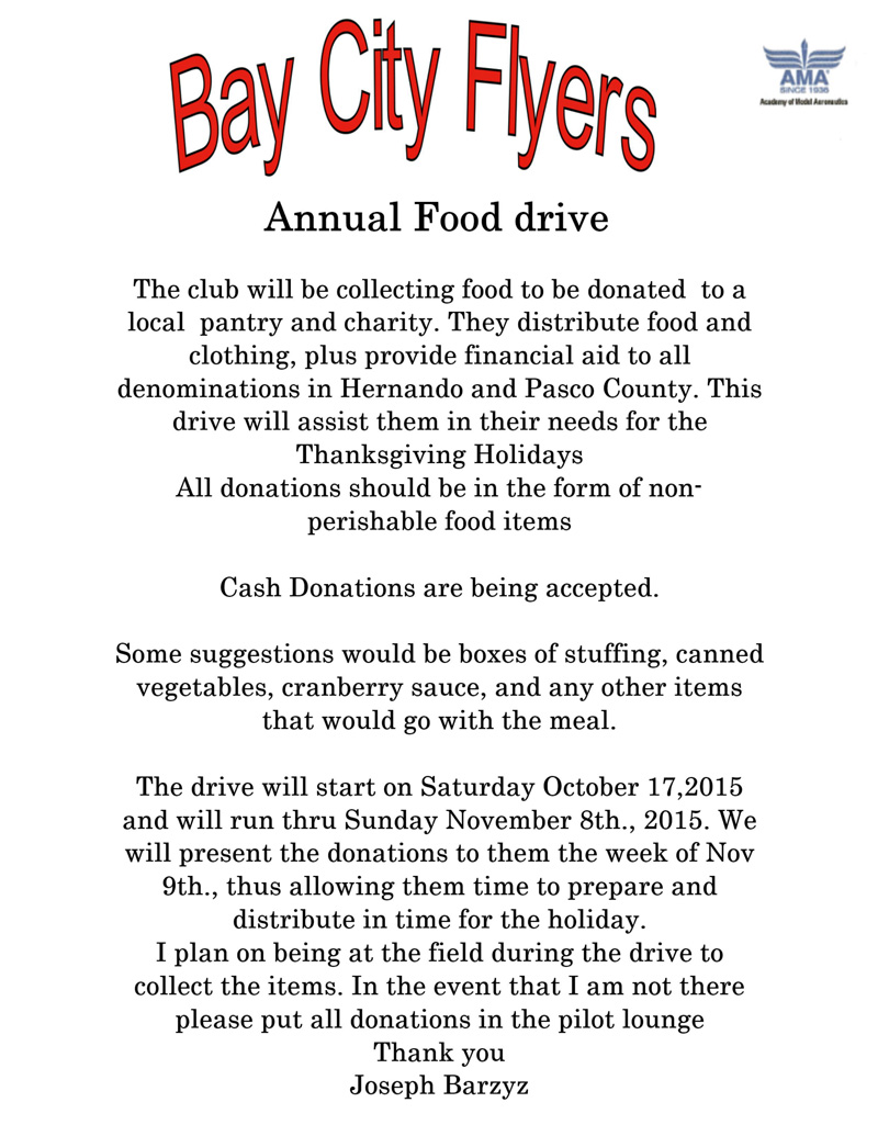 BCF Food Drive Small