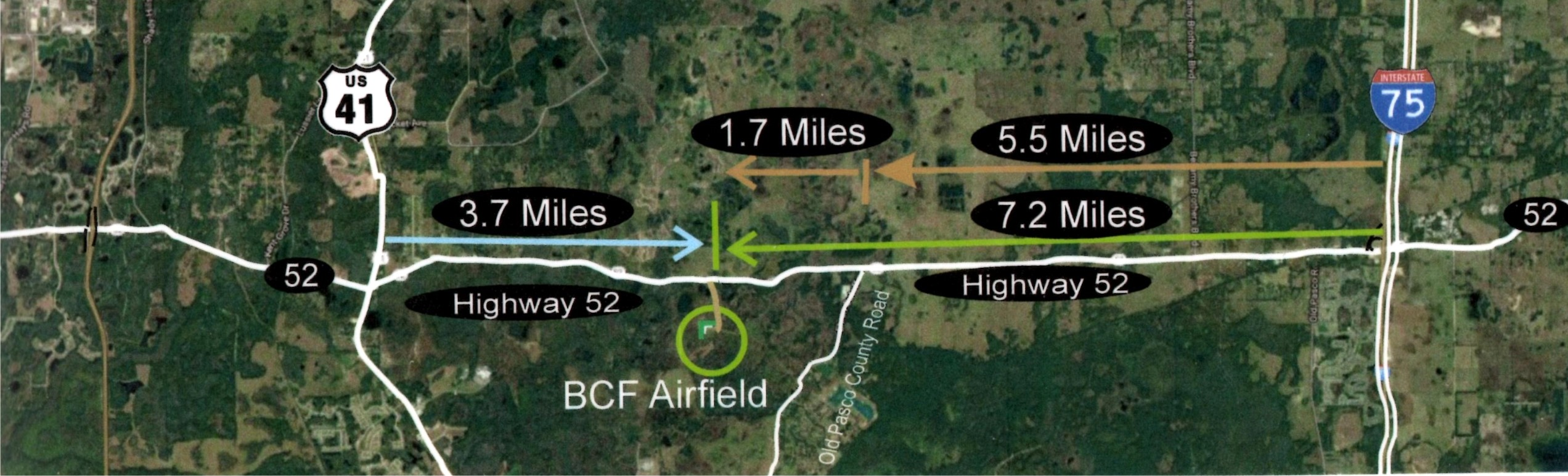 BCF Field Map